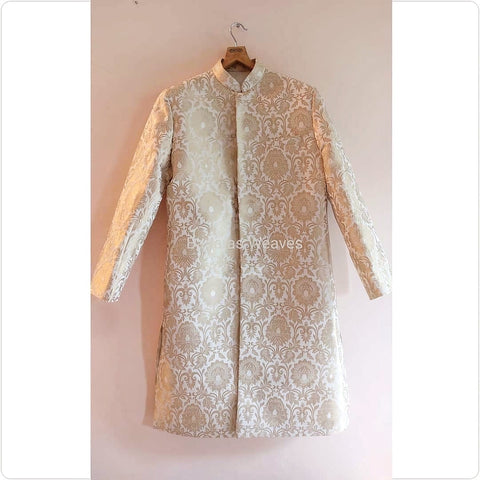 Banarasee Men's Sherwani 01