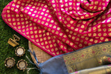 Banarasee Thin silk fabric- 105