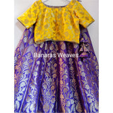 BANARASE KALIDAAR SILK LEHENGA 020- Made to Measure