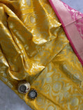 BANARASEE SILK KALIDAAR LEHENGA- 025- MADE TO MEASURE