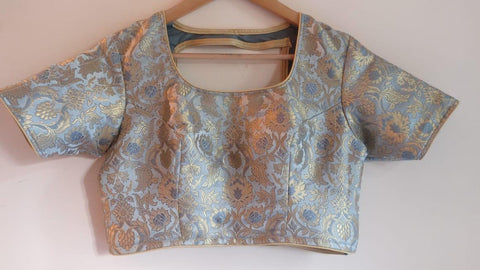 Banarasee Brocade Silk Blouse 016