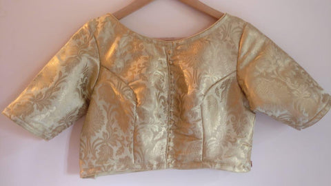 Banarasee Brocade Silk Blouse 05