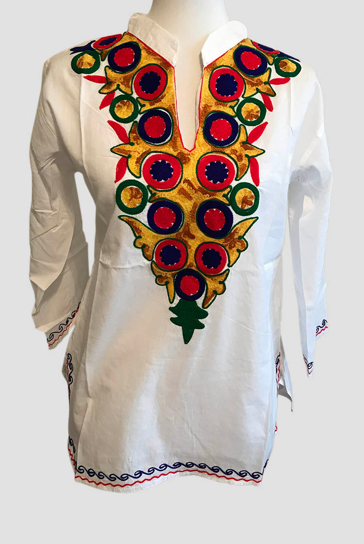 ORB Heavy Embroidery Short Kurti