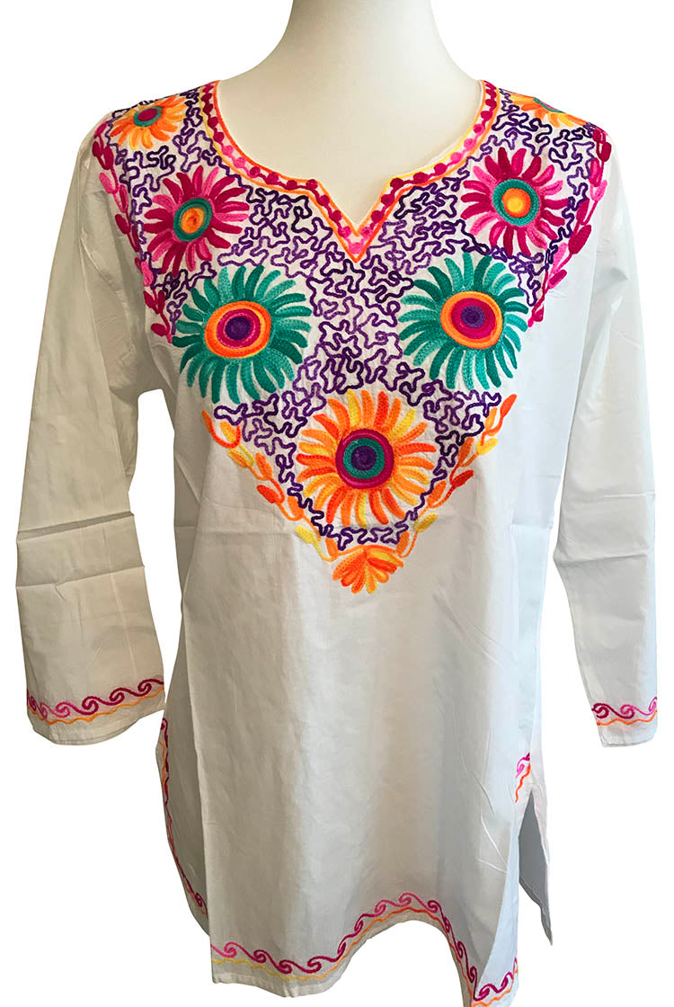 PGOP Heavy Embroidery Short Kurti