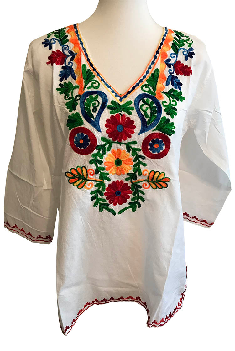 BYOGR Heavy Embroidery Short Kurti