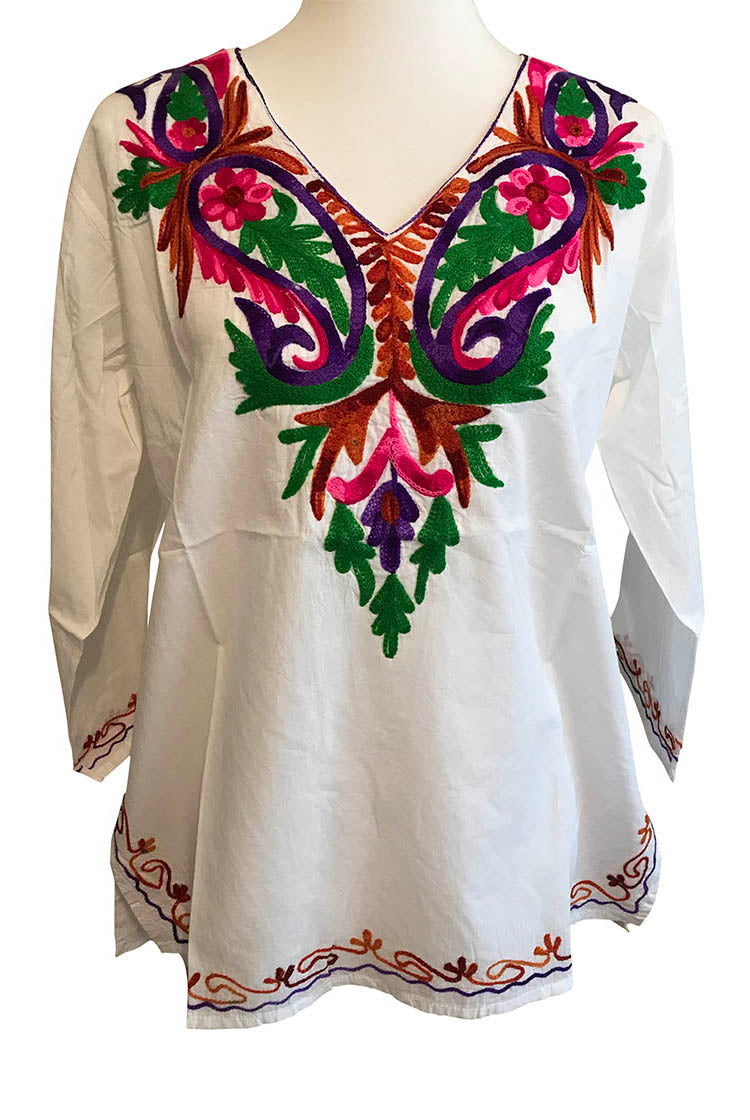 PBGP Heavy Embroidery Short Kurti