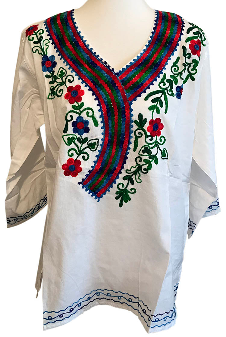 BGR Heavy Embroidery Short Kurti