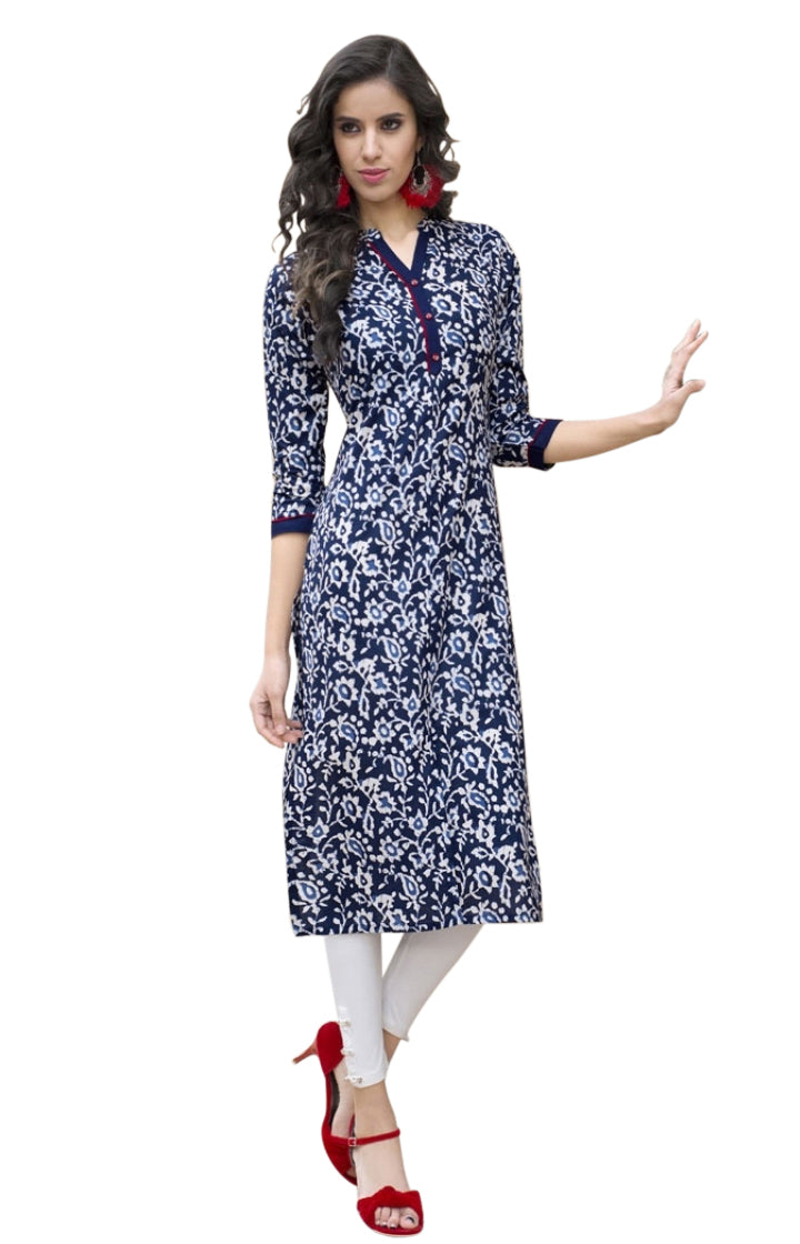 Cotton Printed Summer Kurti 01