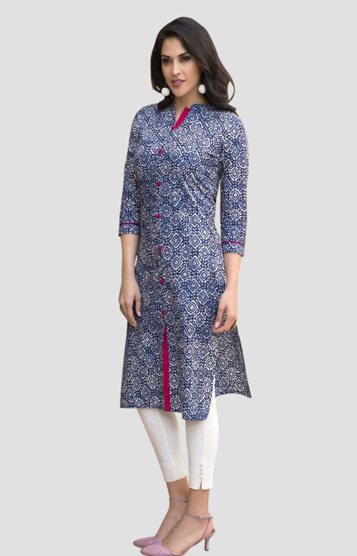 Cotton Printed Summer Kurti 04