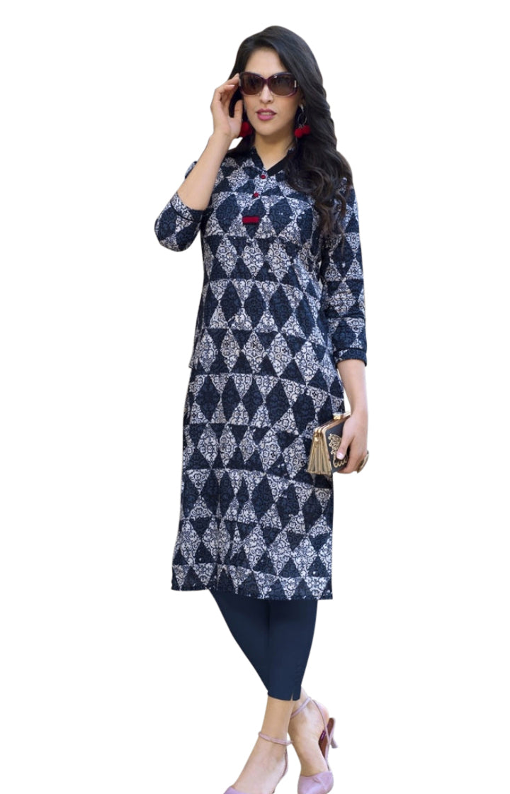 Cotton Printed Summer Kurti 05
