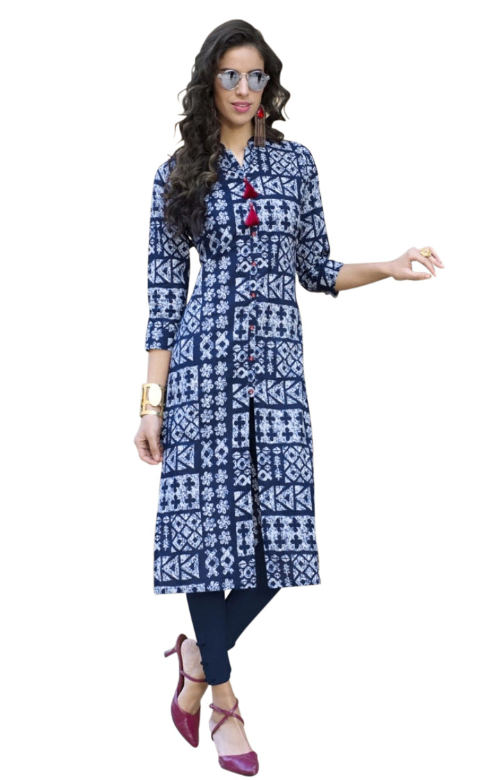 Cotton Printed Summer Kurti 06