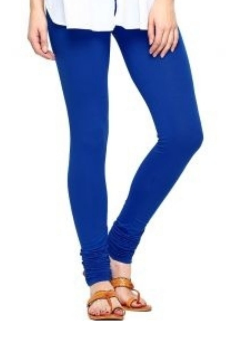Blue Churidar Legging