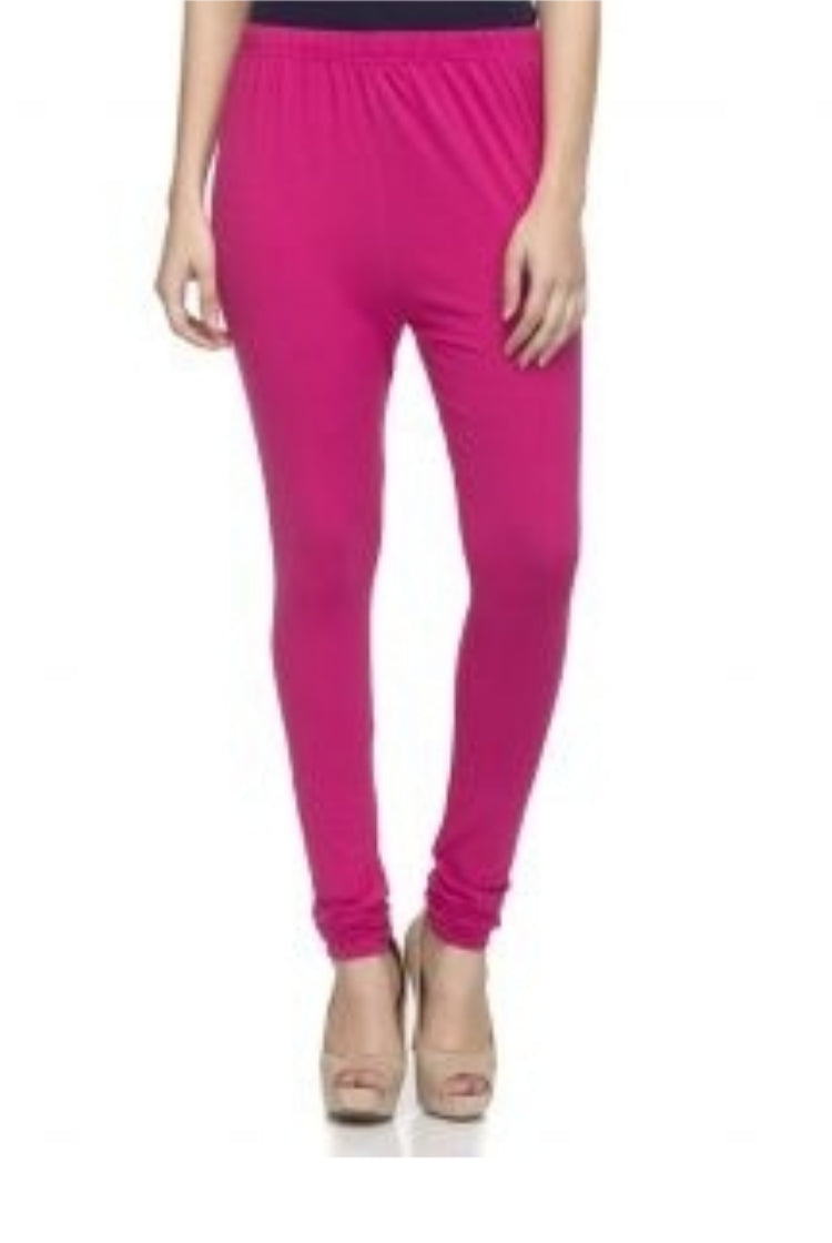 Hot Pink Churidar Legging