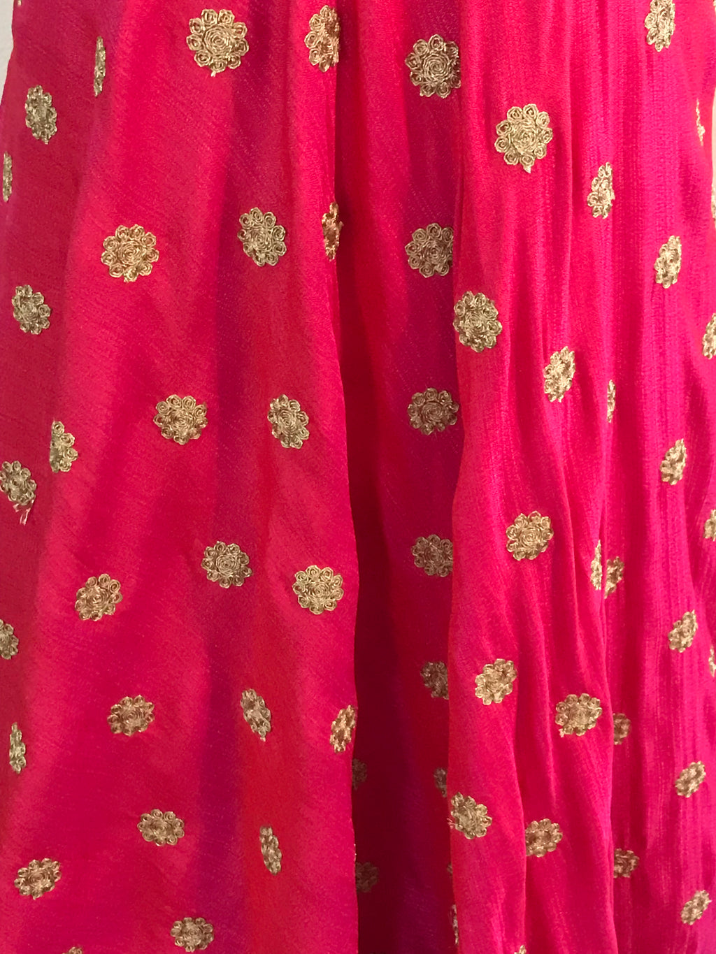Heavy Anarkali Gown in Lotus Pink