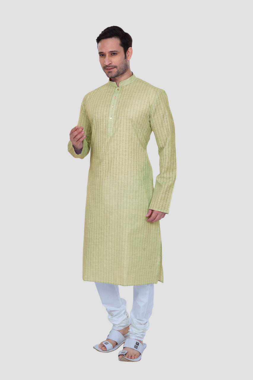 Ethniz - Men's Lyril Kurta with Churidar