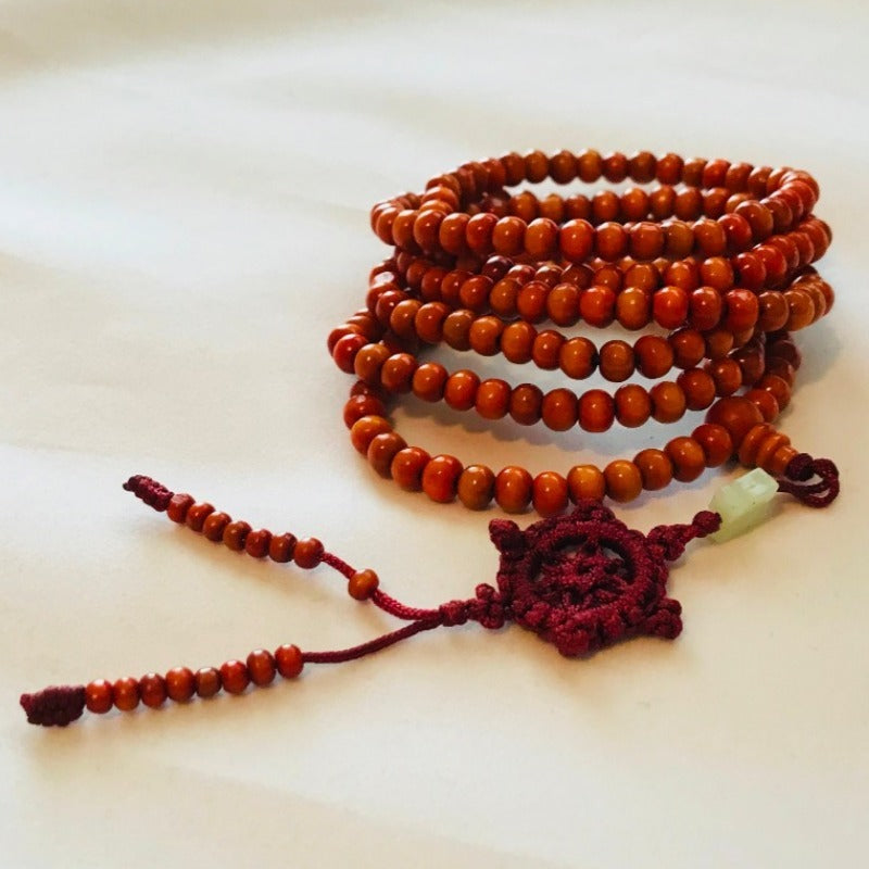 Oak Wood beaded Necklace Bracelet