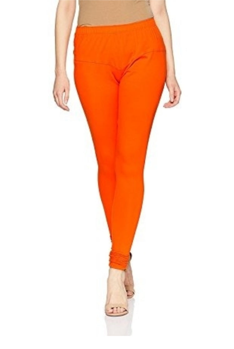 Orange Churidar Legging