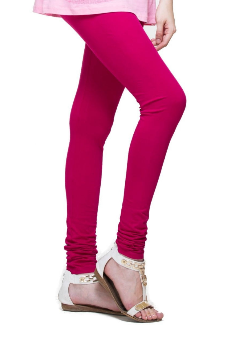Pink Churidar Legging