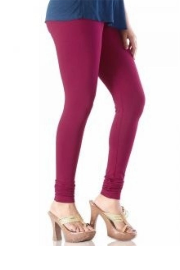 Maroon Churidar Legging