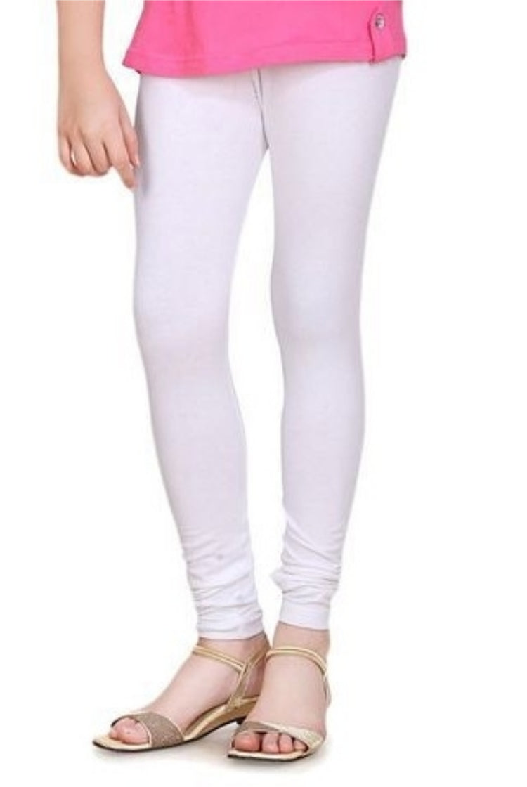 White Churidar Legging