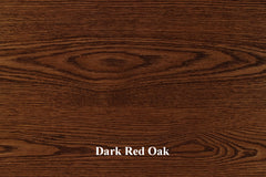 Dark Red Oak Top Pic
