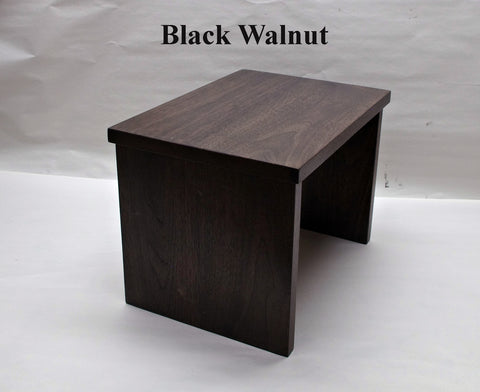 TV Riser Desk Riser - Black Walnut