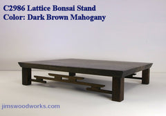 Click Here for Bonsai Stands