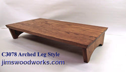 "C3078 Arched Leg Style - 30"" Length"