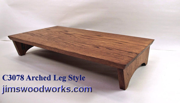 "C3078 Arched Leg Style - 12"" Length"