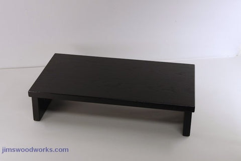 Special Order Ships in 5 week - CDR101 TV Stand Desk Riser - Black  18L-10W-4H