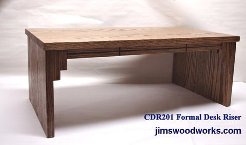 "CDR201 Formal Desk Riser - 20"" Length"