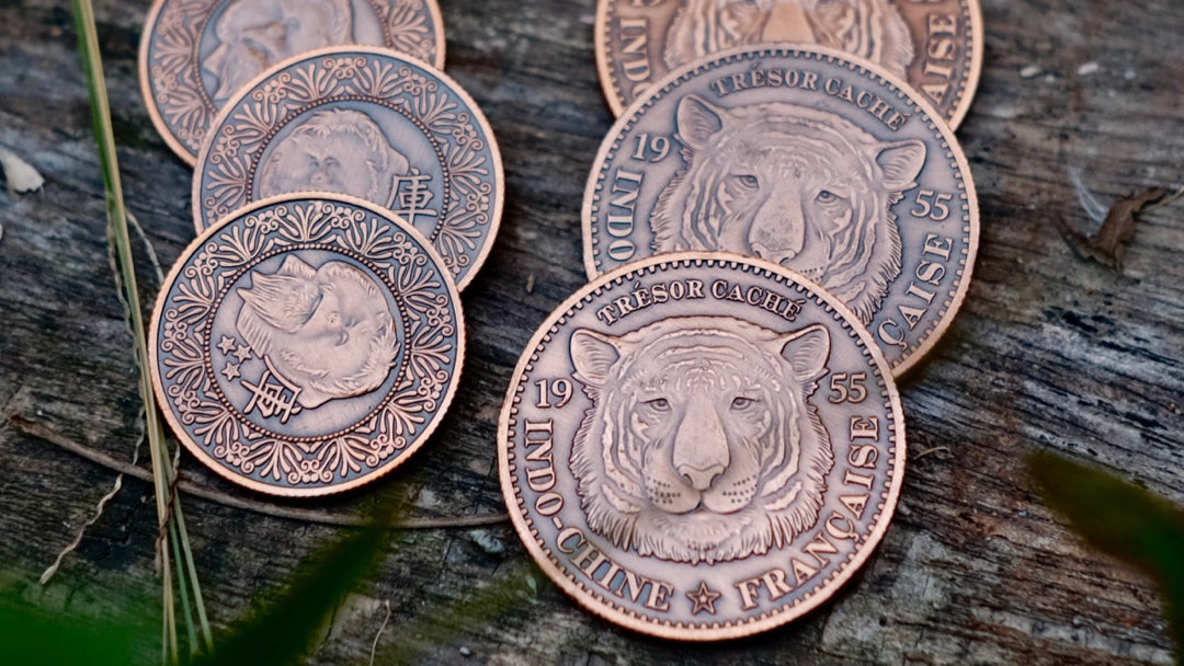 Tiger-Tan Coins