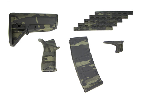 BCM Furniture Set Multicam Black