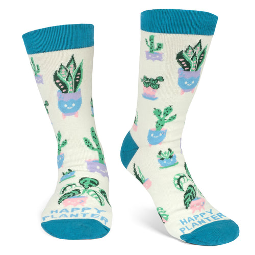 Happy Planter Socks
