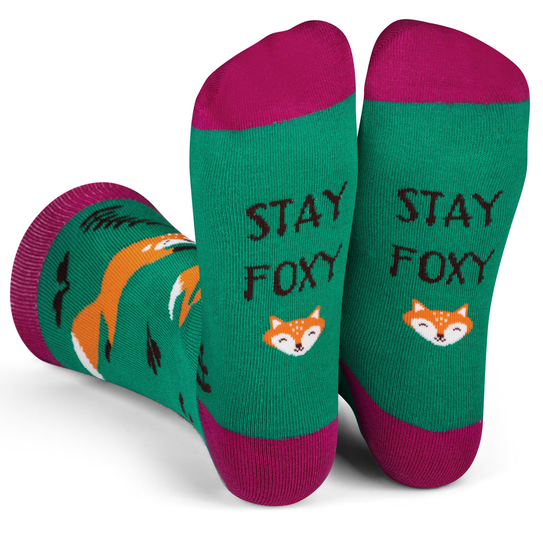 Stay Foxy Socks