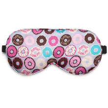 Donut Wake Me Silk Sleep Mask
