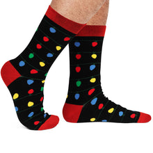 It's Lit Christmas Light Socks