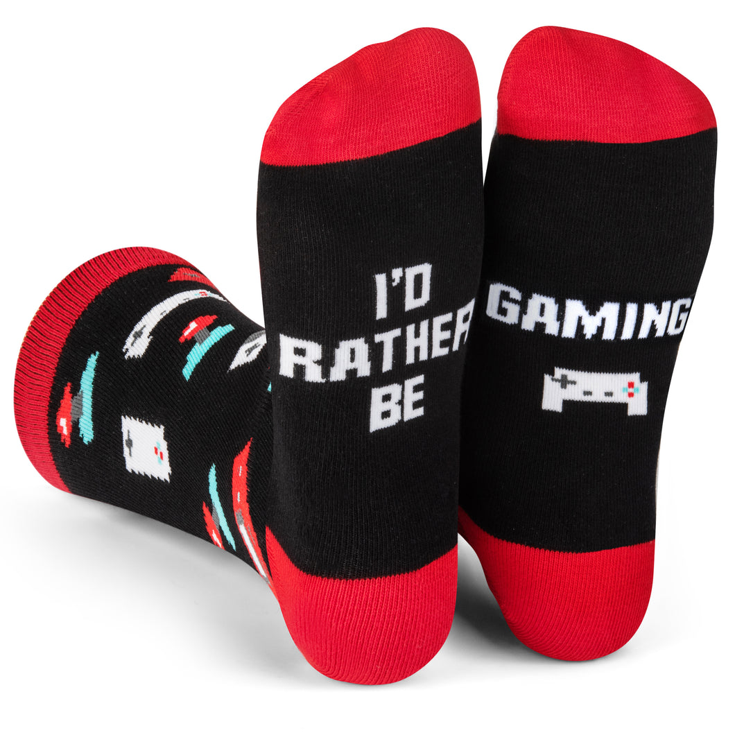 I'd Rather Be Gaming Socks