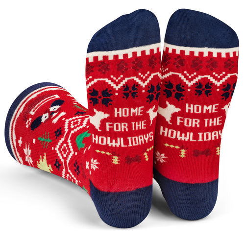 Home For The Howlidays Socks