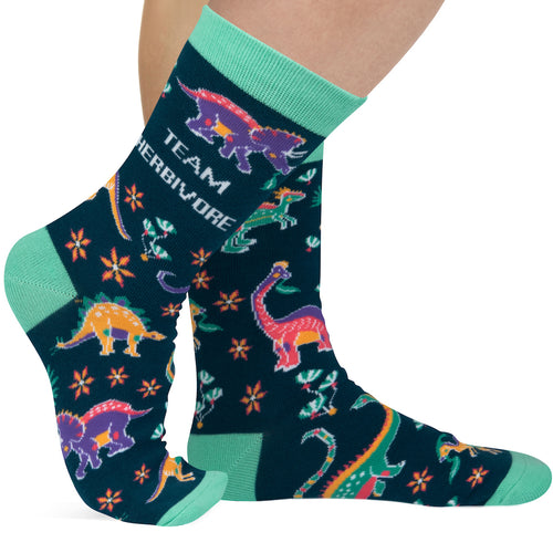 Team Herbivore Socks