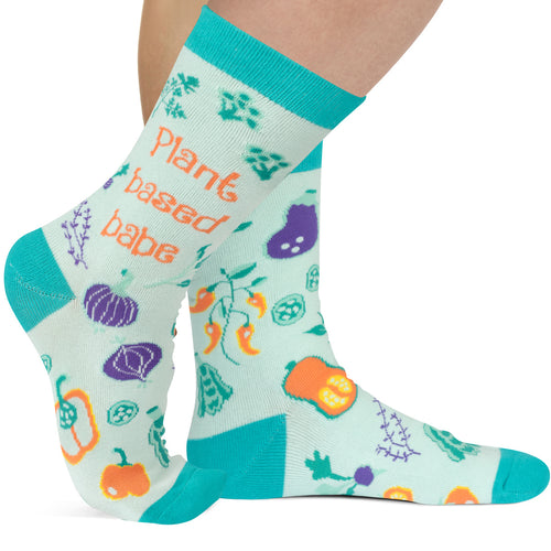 Plant-Based Babe Socks