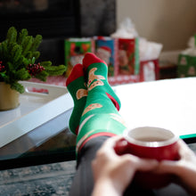 Knee High Novelty Christmas Socks (Cookies & Candy)