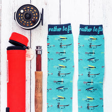 I'd Rather Be Fly Fishing Socks