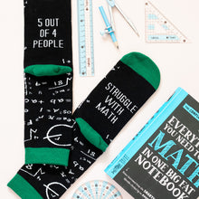 Math Nerd Socks