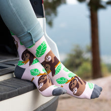 Let's Hang Sloth Socks