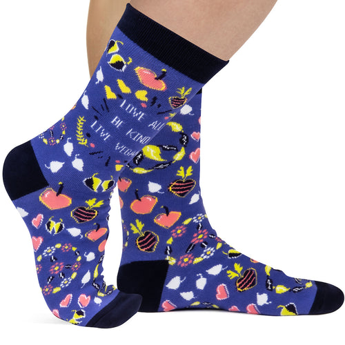 Live Vegan Socks