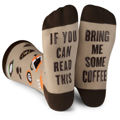 Bring Me Some Coffee Socks