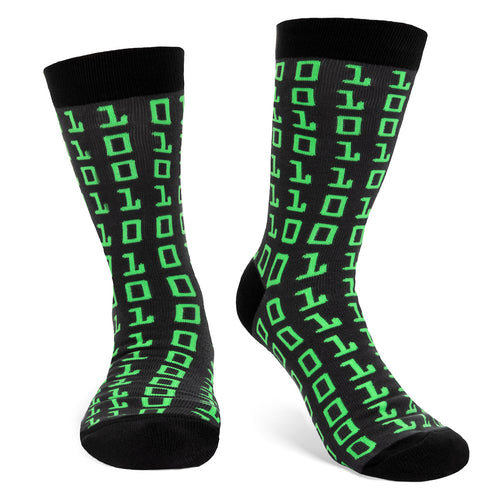 Binary Code Socks