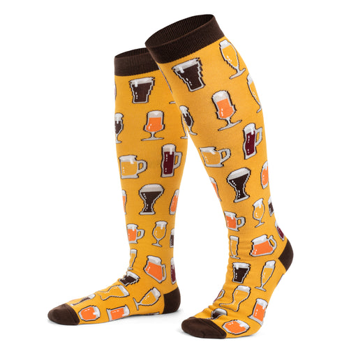 Beer Aficionado Knee High Socks
