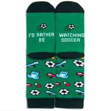 I'd Rather Be Watching Soccer Socks